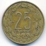 Камерун, 25 франков (1958 г.)