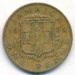 Ямайка, 1 пенни (1959 г.)