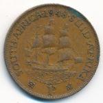 ЮАР, 1 пенни (1948–1950 г.)