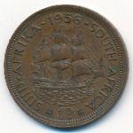 ЮАР, 1 пенни (1956–1960 г.)