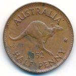 Австралия, 1/2 пенни (1952 г.)