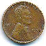 США, 1 цент (1950 г.)