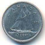 Канада, 10 центов (1973 г.)