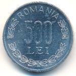 Румыния, 500 леев (1999 г.)