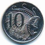Австралия, 10 центов (2001 г.)