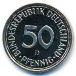 ФРГ, 50 пфеннигов (1996 г.)