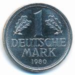 ФРГ, 1 марка (1980 г.)
