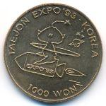Южная Корея, 1000 вон (1993 г.)