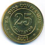 Никарагуа, 25 сентаво (2007 г.)