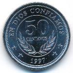 Никарагуа, 50 сентаво (1997 г.)