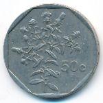 Мальта, 50 центов (1991–2001 г.)