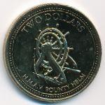 Острова Питкэрн, 2 доллара (2009 г.)