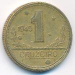 Бразилия, 1 крузейро (1945–1947 г.)