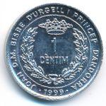 Андорра, 1 сентим (1999 г.)