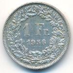 Швейцария, 1 франк (1956 г.)