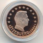 Люксембург, 1 евроцент (2003 г.)