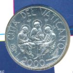 Ватикан, 2000 лир (2000 г.)