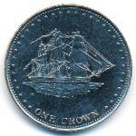 Остров Штольтенхоф, 1 крона (2008 г.)