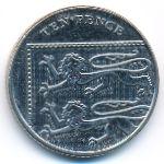 Великобритания, 10 пенсов (2013–2014 г.)