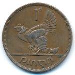 Ирландия, 1 пенни (1946 г.)