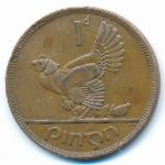 Ирландия, 1 пенни (1963 г.)
