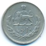Иран, 10 риалов (1973 г.)