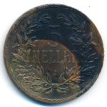 Немецкая Африка, 5 геллеров (1908 г.)
