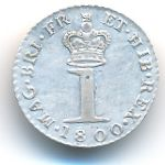 Великобритания, 1 пенни (1800 г.)