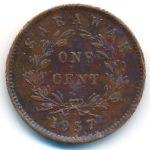 Саравак, 1 цент (1937 г.)
