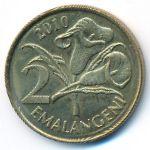 Свазиленд, 2 эмалангени (2010 г.)