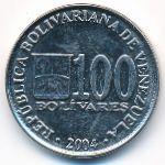Венесуэла, 100 боливар (2004 г.)