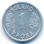 Исландия, 1 крона (1976–1978 г.)