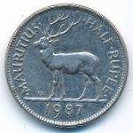 Маврикий, 1/2 рупии (1987 г.)