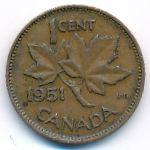 Канада, 1 цент (1951 г.)