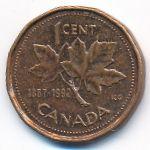 Канада, 1 цент (1992 г.)
