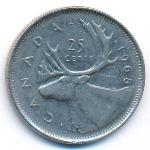 Канада, 25 центов (1968 г.)