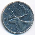 Канада, 25 центов (1978 г.)