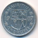 Маврикий, 1 рупия (1987 г.)