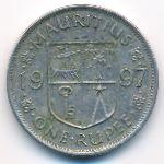 Маврикий, 1 рупия (1997 г.)
