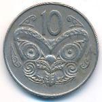 Новая Зеландия, 10 центов (1970 г.)
