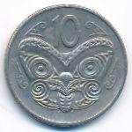 Новая Зеландия, 10 центов (1978 г.)