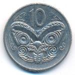 Новая Зеландия, 10 центов (1982 г.)