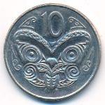 Новая Зеландия, 10 центов (1996 г.)