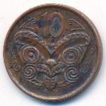 Новая Зеландия, 10 центов (2009 г.)