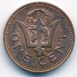 Барбадос, 1 цент (1973 г.)