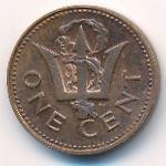 Барбадос, 1 цент (1980 г.)