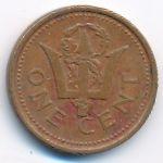 Барбадос, 1 цент (1986 г.)