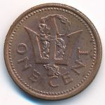 Барбадос, 1 цент (1990 г.)