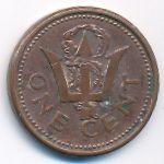 Барбадос, 1 цент (1998 г.)