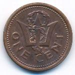 Барбадос, 1 цент (1999 г.)